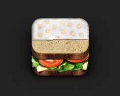 Sandwich iOS icon by Ryan Ford
