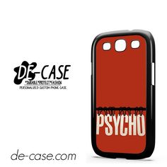 Movie Poster Psycho DEAL-7476 Samsung Phonecase Cover For Samsung Galaxy S3 / S3 Mini