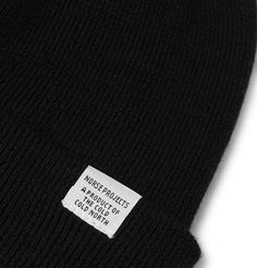 Keep warm in Norse Projects' beanie, which is spun from soft merino wool that insulates without letting you overheat. It has a folded edge trimmed with a logo patch and is designed in versatile black, so you can wear it with most outfits. Pink Leather, Leather Men, Leather Jackets, Fashion Advice, Fashion News, Bracelets For Men, Leather Bracelets, Norse Projects, Keep Warm