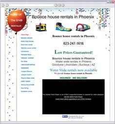 Bounce house rentals in Phoenix