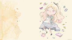 Wallpaper com o calendário de Novembro de 2015 com uma ilustração inspirada em Alice no País das Maravilhas. Disponível sem o calendário também.