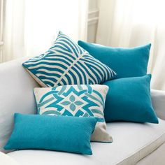 Wisteria Accessories By Category Throw Pillows Celtic Knot Pillow Blue