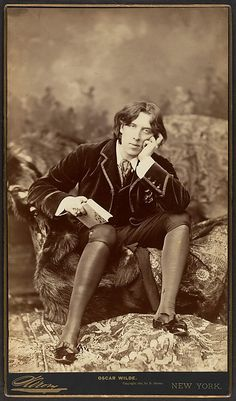 Oscar Wilde  Napoleon Sarony  (American (born Canada), Quebec 1821–1896 New York City)    Date:      1882  Medium:      Albumen silver print  Dimensions:      Image: 30.5 x 18.4 cm (12 x 7 1/4 in.)  Classification:      Photographs  Credit Line:      Gilman Collection, Purchase, Ann Tenenbaum and Thomas H. Lee Gift, 2005  Accession Number:      2005.100.120