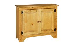 Two Door Cabinet - Peaceful Valley Amish Furniture