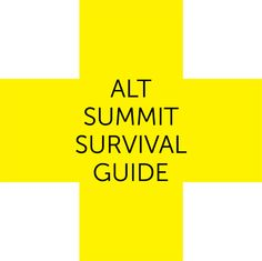 An Alt Summit Survival Guide + Printable PackingList - Home - Creature Comforts - daily inspiration, style, diy projects + freebies