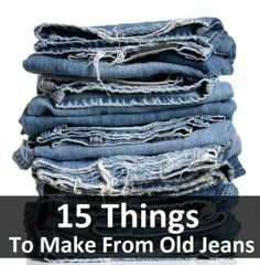 Recycled jeans