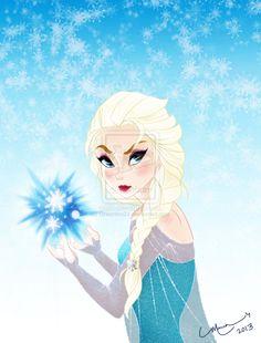 Frozen by BeanLove.deviantart.com on @deviantART