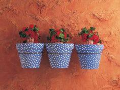 Mediterranean Pots  Art Print by Anne Geddes