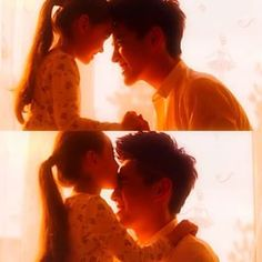 Daddy-Daughter moment  Wu Yi Fan and Sophia