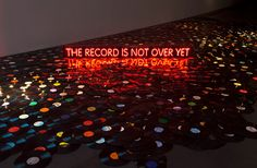 """nevver: """" Saturday is Record Store Day! Go back and get ignored by record store employees who think they're cooler than you, just like in the good old days. Music Signs, Vinyl Junkies, Photo Caption, Museum Of Contemporary Art, Pretty Lights, Neon Lighting, The Good Old Days, Vinyl Records, Rock And Roll"""