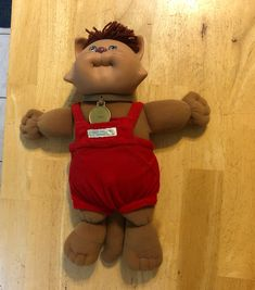 """Cabbage Patch Kids cat """"Jersey"""" Cabbage Patch Kids Dolls, Kids Toys, Badge, Patches, Cat, Childhood Toys, Children Toys, Cat Breeds, Badges"""