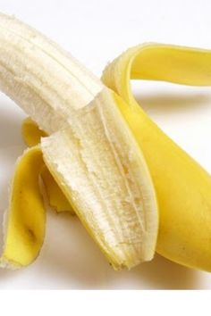 Did you know?  The inside of a banana peel can actually whiten teeth! Great idea !