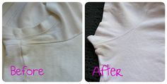pit stain remover (get your white t-shirts white again)