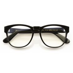 Wildfox Classic Fox Spec Eyeglasses found on Polyvore