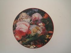 Blomstrete boks Thrifting, Decorative Plates, Objects, Tableware, Floral, Painting, Home Decor, Art, Art Background