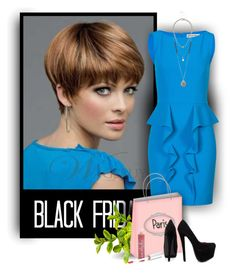 """""""Black friday 2014 - November 28th - 28 - Wigsbuy Hairstyles"""" by wigsbuystyle ❤ liked on Polyvore"""