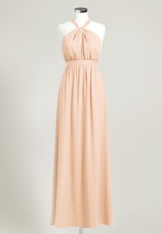 $75 rent, melon. Bridesmaids // Leigh Dress by Union Station in Melon #rent