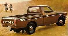 ... Toyota Hilux in (Pueblo) Brown (415) from 1975-1976 #1 ...