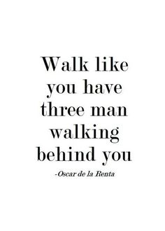 Oscar de la Renta would prefer that this inspirational quote-poster refrain from defacing his work in future.