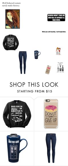 """""""Good girl with bad habits"""" by littleredkatie ❤ liked on Polyvore featuring Casetify, Vandor and H&M"""