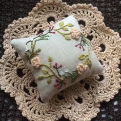 刺繍の針山