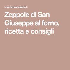 Zeppole di San Giuseppe al forno, ricetta e consigli