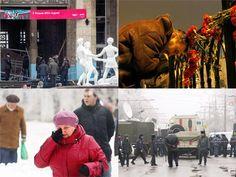 Slideshow : Twin blasts rock Russia's Volgograd city - Twin blasts rock Russia's Volgograd city | The Economic Times
