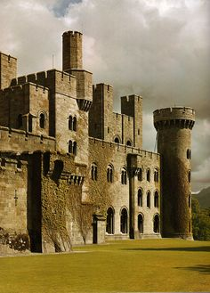 Penrhyn Castle Follow us at https://www.pinterest.com/penancehallco/ for fashion and lifestyle tips for the modern gentleman
