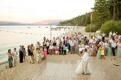 Lake Tahoe Wedding from One Fine Day - could it be? the best of both worlds