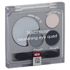 Neutrogena Eye Quad, Nourishing, Blue Smoke 150. If you are looking for Neutrogena Eye Quad, Nourishing, Blue Smoke 150, take a look at our review to