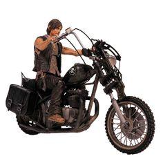Daryl Dixon con Motocicleta Chopper | The Walking Dead Serie 2
