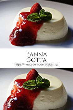 Panna Cotta, Sugar Rush, Light Recipes, Food Inspiration, Food Photography, Deserts, Food And Drink, Low Carb, Sweets