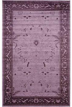 Mistana Shailene Purple Area Rug Rug. Purple Area Rug - Try it with blush pink accessories including sofa and chairs. #purplerug #purplearearug #affiliatelink