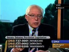 Pls RP: #IndictHillary Interview with Bernie Sanders on Labor Unions (6/21/2007)