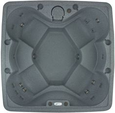 AquaRest Deluxe Series AR-600 Resin Plug N' Play Spa 6 Person Hot Tub- 19 Jets- LED Waterfall