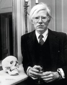 In MEMORY of ANDY WARHOL on his BIRTHDAY - Born Andrew Warhola, American artist, film director, and producer who was a leading figure in the visual art movement known as pop art. His works explore the relationship between artistic expression, advertising, and celebrity culture that flourished by the 1960s, and span a variety of media, including painting, silkscreening, photography, film, and sculpture.   Aug 6, 1928 - Feb 22, 1987   (cardiac arrhythmia)