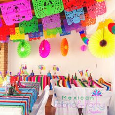 mexican papel picado banners
