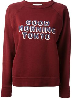 Etoile Isabel Marant 'Halen Good Morning Tokyo' printed sweatshirt on shopstyle.com
