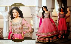 Latest Anarkali Suits: Anarkali Suits Collection  - Upto 50% Off See more about anarkali suits, salwar kameez and Sarees @ http://aapkabazar.in/clothes.html