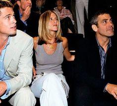 Celebs who can't stand Jennifer Aniston - Celebrities Female Brad Pitt Jennifer Aniston, Jennifer Aniston Style, Brad Pitt And Jennifer, Brad And Jen, Jenifer Aniston, George Clooney, Brad Pitt Birthday, Brad Pitt Style, Divas