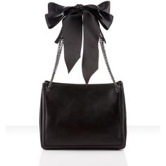 Christian Louboutin Artemis Bow Tote ($1,995) ❤ liked on Polyvore