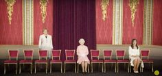 The same meeting—with only women (Elizabeth II, Angela Merkel, and Cristina Fernández de Kirchner).