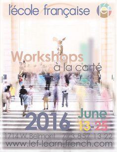 Spring 2016 - language & cultural workshop session - June 13 - 25