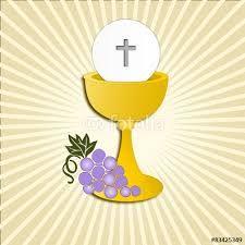 Resultado de imagen para caliz y hostia primera comunion vector Church Banners, Religious Education, Prayer Cards, Communion, Tweety, Birthdays, Clip Art, Confirmation, Erika