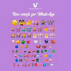 We all love emojis! Here are the new ones in WhatsApp for 2020. Social Networks, Social Media, New Emojis, Best Time To Post, Digital Story, Meet The Team, Instagram Users, Digital Marketing, Innovation
