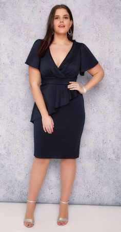 36 Plus Size Wedding Guest Dresses {with Sleeves}