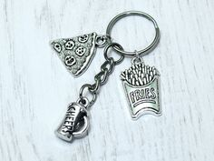 Boys night out keyring Lads night out by BeadyBellaCinderella
