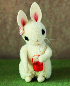 Adventures in Pompom Land Bunny Tutorial, so kind, thanks so for share! xox