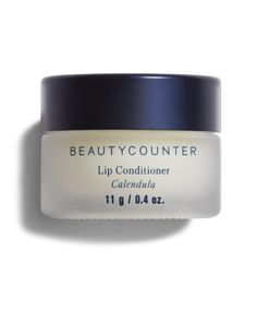 LOVE this soothing lip balm/ Peanut and gluten-free skin care / Beautycounter Lip Conditioner in Calendula