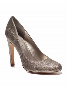 Sparkly wedding shoes<3
